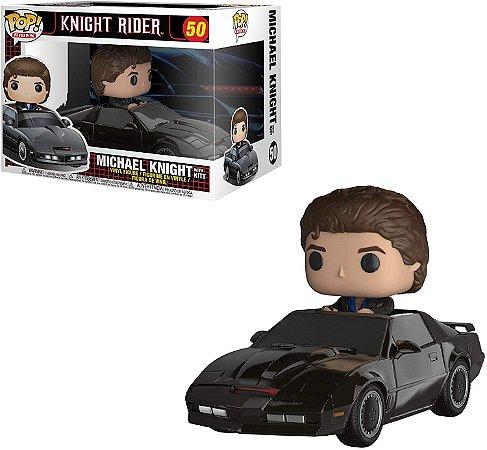 Funko Pop Knight Rider 50 Michael Knight with Kit