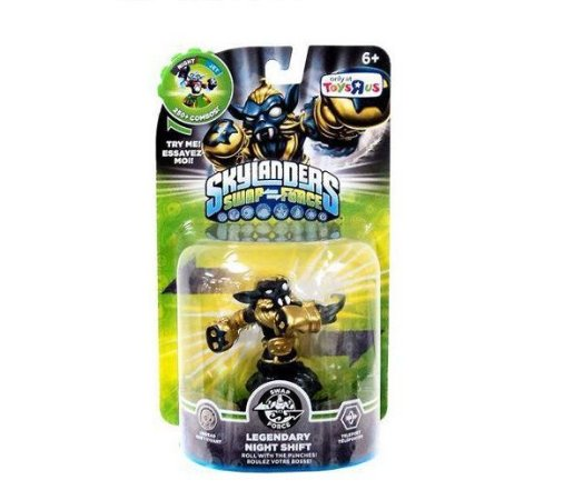 Skylanders Swap Force Legendary Night Shift