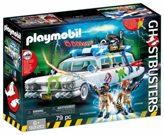 PLAYMOBIL Ghostbusters Ecto-1 Luzes e Som 9220