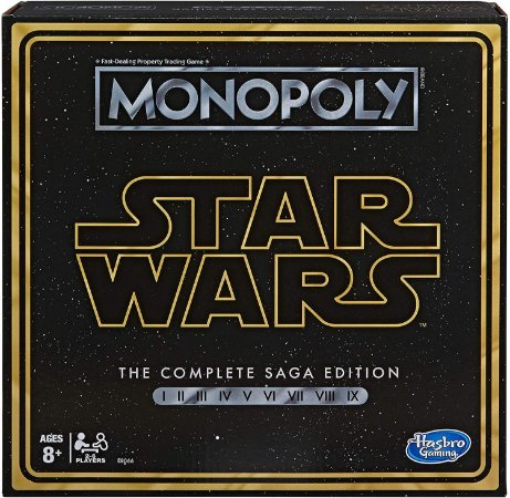 Monopoly Star Wars Complete Saga Edition Board Game (Inglês)