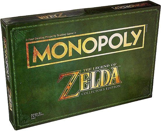 Monopoly Legend of Zelda Collectors Edition Board Game (Inglês)