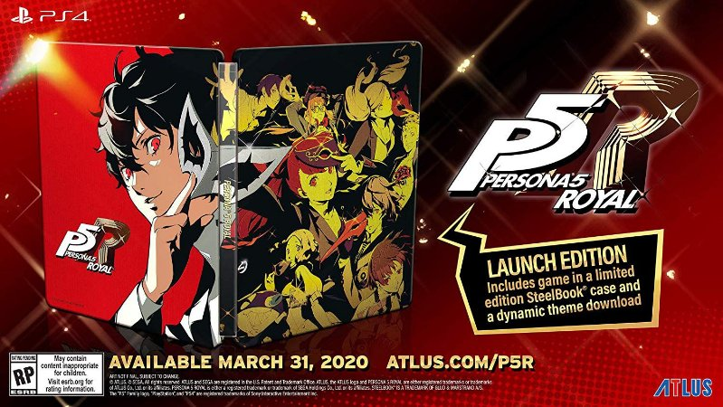 Persona 5 Royal Steelbook Launch Edition - PS4
