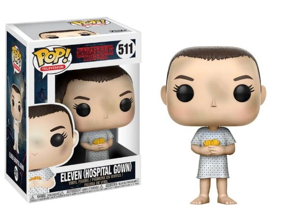 Funko Pop Stranger Things 511 Eleven Hospital Gown