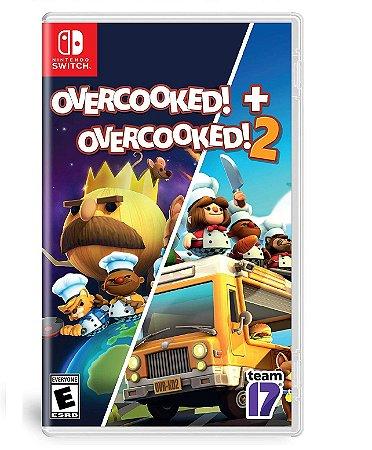 Overcooked + Overcooked 2 - Switch