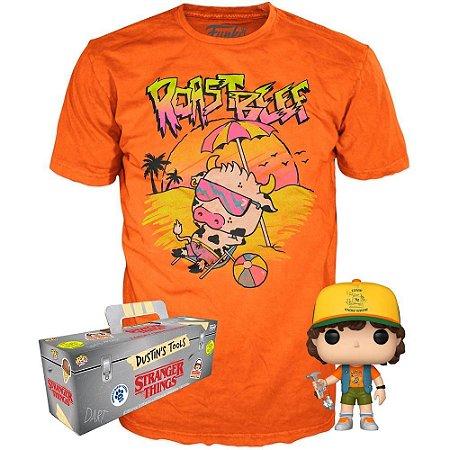 Funko Pop Collectors Box Stranger Things Dustin Tamanho M