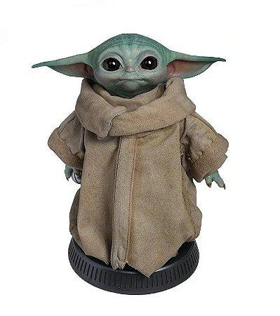 Star Wars The Mandalorian Baby Yoda Réplica The Child Escala 1/1