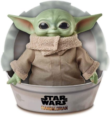 Star Wars The Mandalorian Baby Yoda The Child Plush Pelúcia