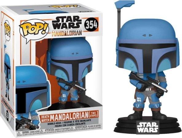 Funko Pop Star Wars Mandalorian 354 Two Stripes Death Watch Limited