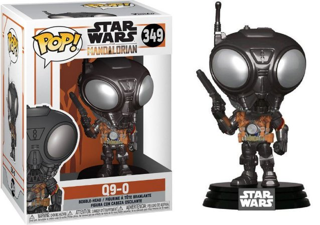 Funko Pop The Mandalorian 349 Q9-Zero