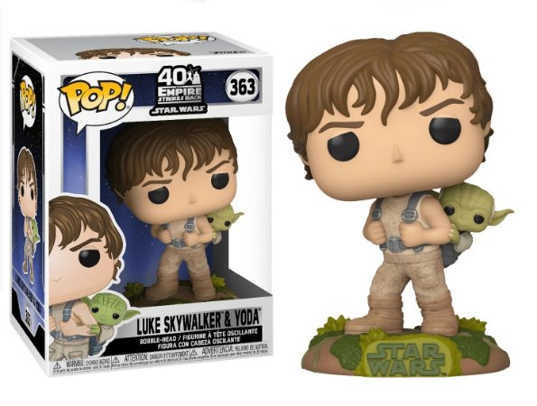 Funko Pop Star Wars 363 Training Luke with Yoda