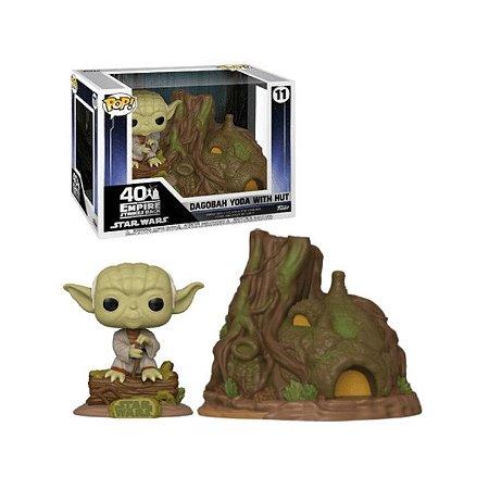 Funko Pop Star Wars 11 Dagobah Yoda With Hut
