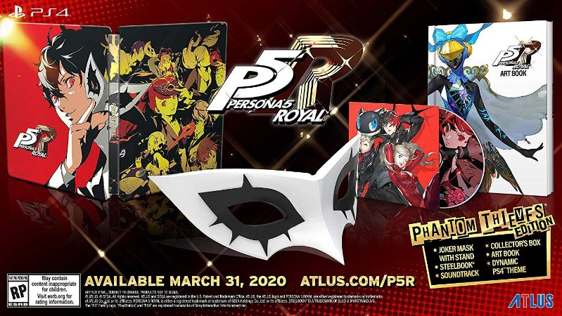 Persona 5 Royal Phantom Thieves Edition - PS4