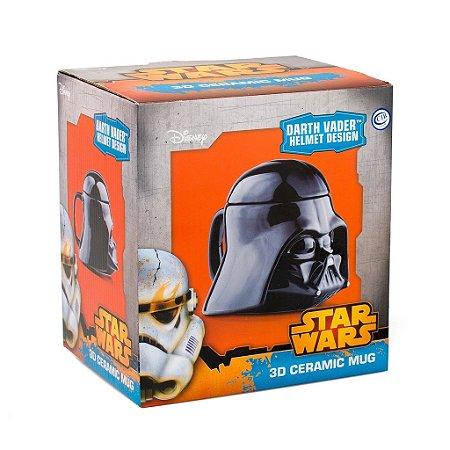 Caneca de Cerâmica 3D - Star Wars Darth Vader Mug