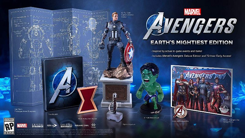 Marvel's Avengers Earths Mightiest Edition Collectors - Xbox One