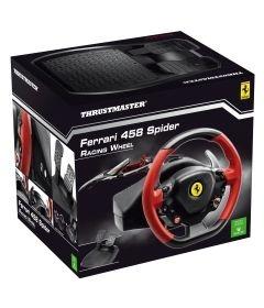 Volante c/ Pedais Thrustmaster Ferrari 458 Spider Racing Wheel - Xbox 360