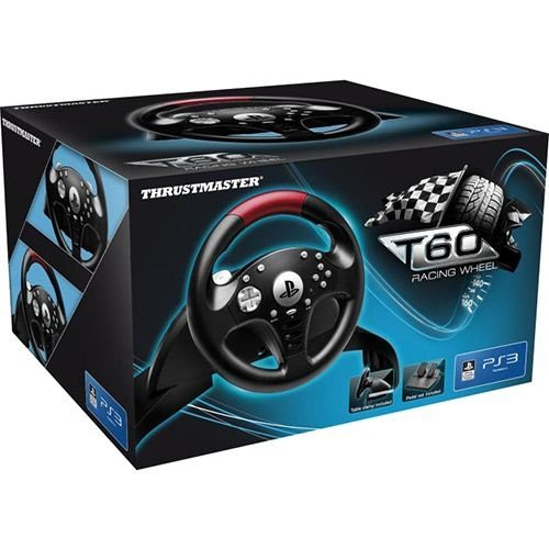 Volante c/ Pedais Thrustmaster T60 Racing Wheel PS3
