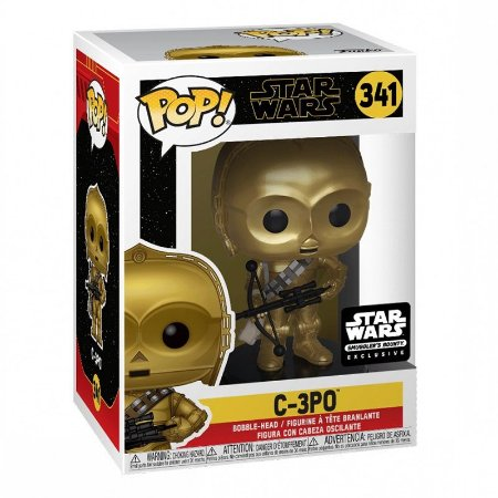 Funko Pop Star Wars Rise Of Skywalker 341 C-3PO Exclusive