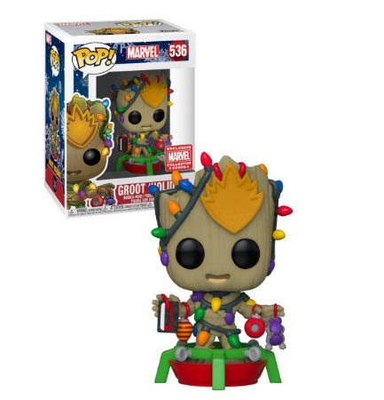 Funko Pop Marvel 536 Groot Holiday Exclusive