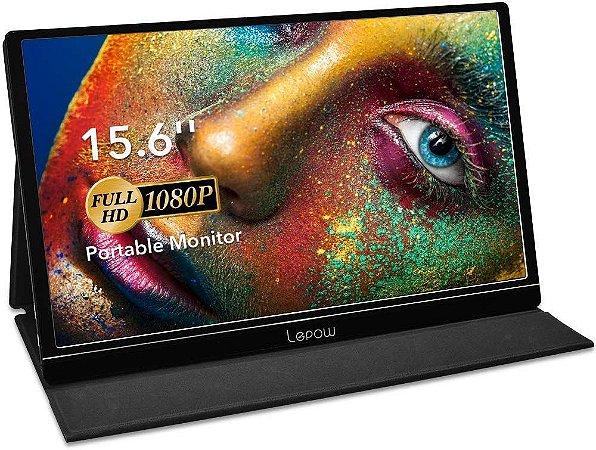 Portable Gaming Monitor Lepow 15.6 Display Full HD