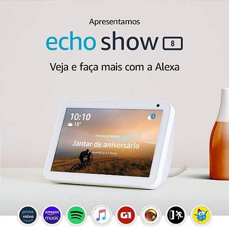 Amazon Echo Show 8 HD 8 Smart Display C/ Alexa - White