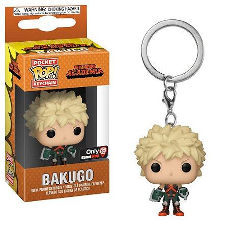 Funko Pocket Pop My Hero Academia Bakugo Keychain Exclusive