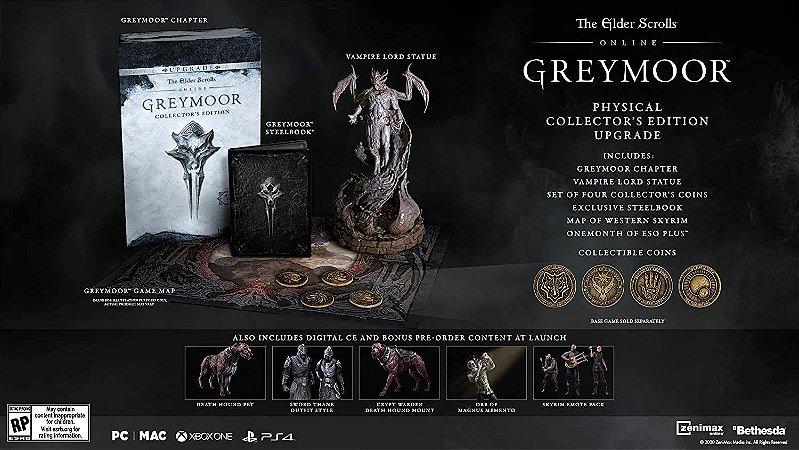The Elder Scrolls Online Greymoor Collectors Ed.  Upgrade - Xbox One