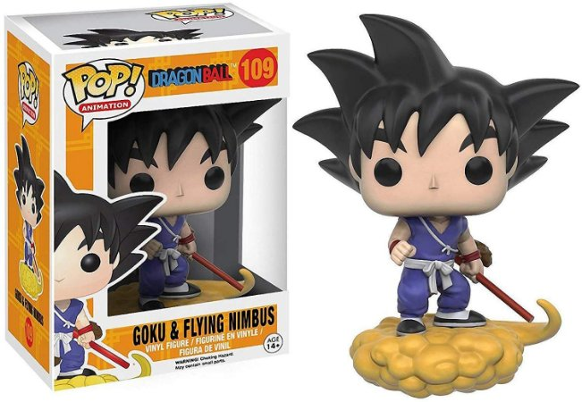 Funko Pop Dragon Ball 109 Goku & Flying Nimbus