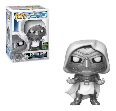 Funko Pop Fantastic Four 591 Doctor Doom Limited Edition