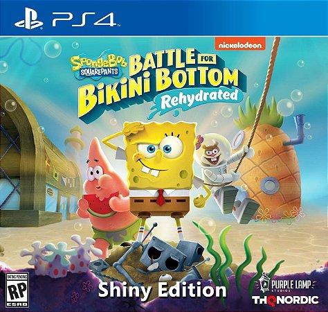 Spongebob Squarepants: Battle for Bikini Bottom Rehydrated Shiny Ed. - PS4