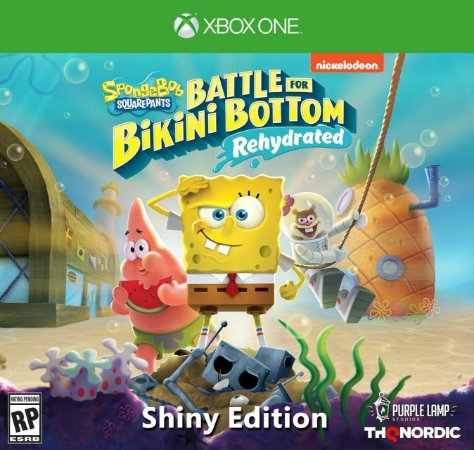 Spongebob Squarepants: Battle for Bikini Bottom Rehydrated Shiny Ed. - Xbox One