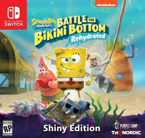 Spongebob Squarepants: Battle for Bikini Bottom Rehydrated Shiny Ed. - Switch