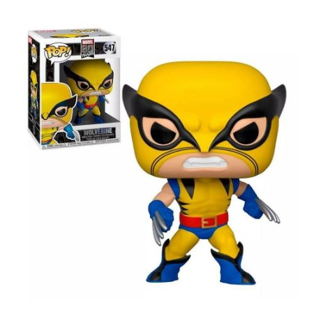 Funko Pop Marvel 80 Years 547 Wolverine
