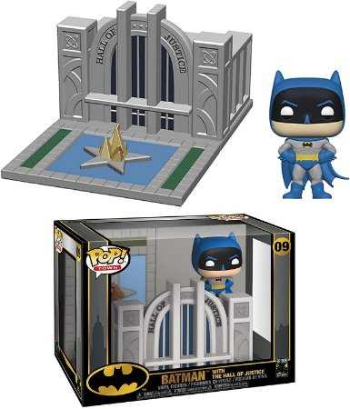 Funko Pop 09 Batman With The Hall Of Justice