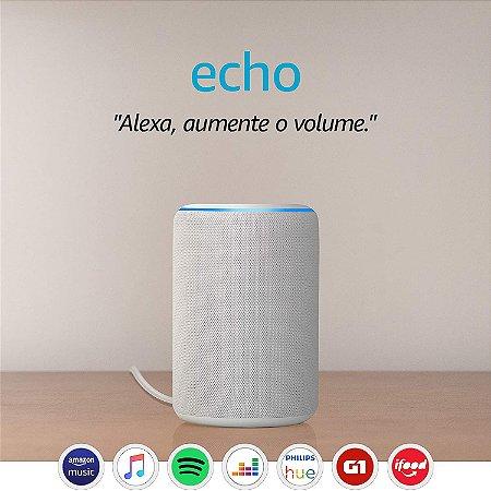 Amazon Echo 3ª Geração Smart Speaker c/ Alexa White - Branco