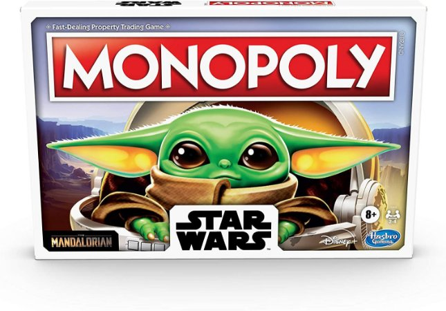 Monopoly Star Wars Mandalorian The Child Baby Yoda Board Game (Inglês)