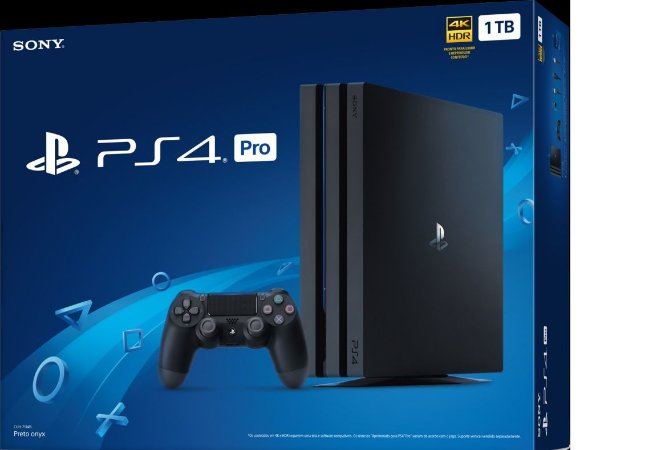 Console Playstation 4 Pro PS4 1Tb