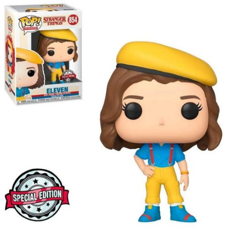 Funko Pop Stranger Things 854 Eleven Special Edition
