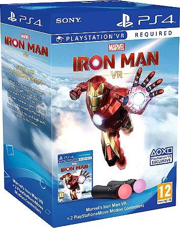 Marvel's Iron Man VR PlayStation Move Controller Bundle - PS4 VR