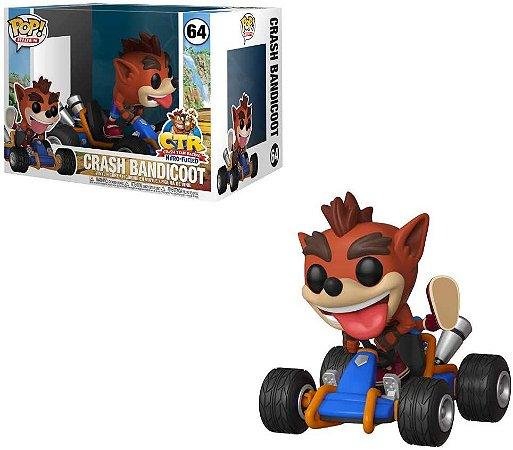 Funko Pop Rides 64 Crash Bandicoot Racing Kart