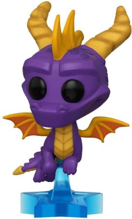Funko Pop Spyro 529 Spyro Fly c/ Base