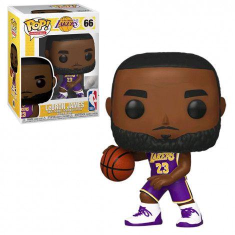 Funko Pop NBA 66 Lebron James Los Angeles Lakers