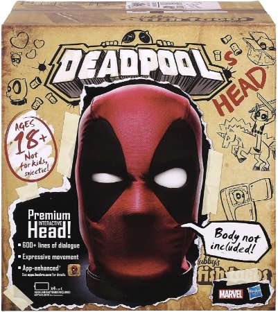 Marvel Legends Deadpool's Head Premium Interactive Talking