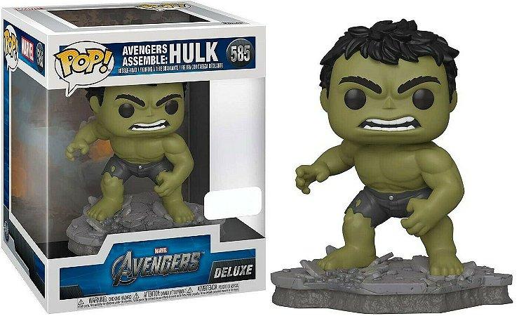 Funko Pop Marvel Avengers 585 Hulk Assemble Deluxe