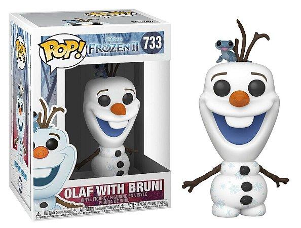 Funko Pop Frozen 2 733 Olaf With Bruni