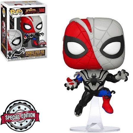 Funko Pop Maximum Venom 598 Venomized Spiderman Special