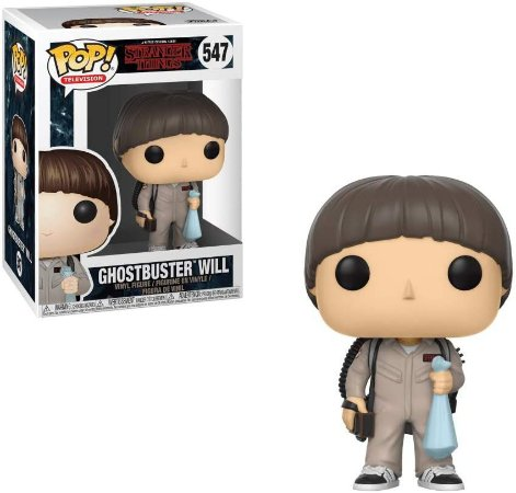 Funko Pop Stranger Things 547 Ghostbusters Will