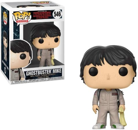 Funko Pop Stranger Things 546 Ghostbusters Mike