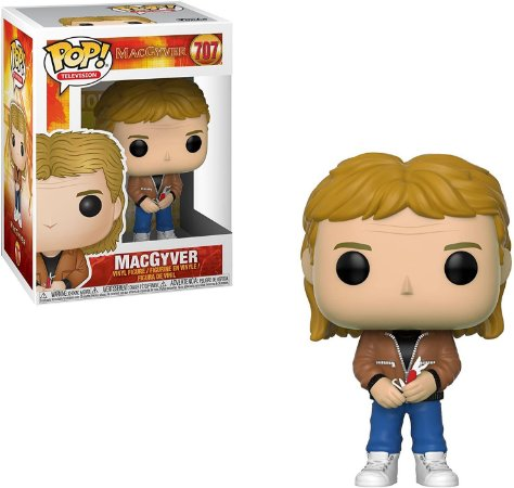 Funko Pop Macgyver 707 Macgyver with Penknife