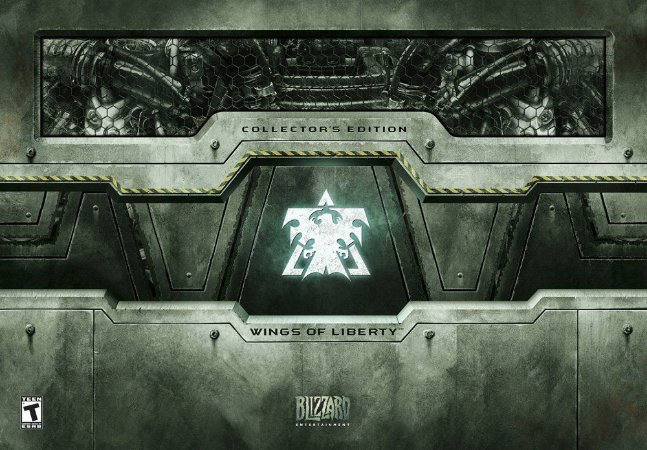 Starcraft II Wings of Liberty Collectors Edition - PC