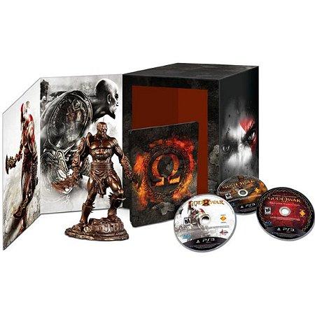 God of War Omega Collection Edição de Colecionador - PS3